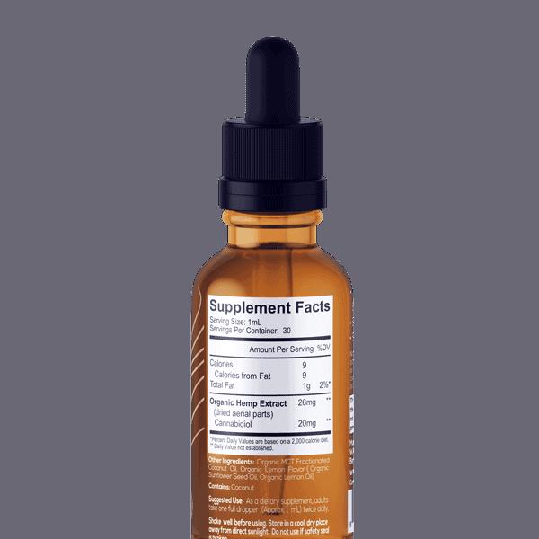 One Farm Organic CBD Cinnamon-Back