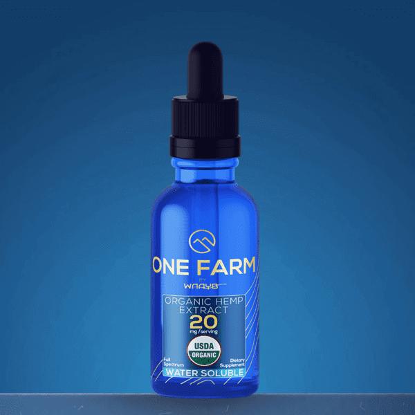 USDA Organic Water Soluble CBD by One Farm